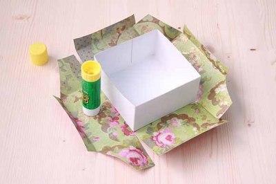 Делаем упаковку для подарка своими руками